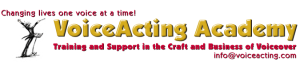 VoiceActing Academy - 858.484.0220 - info@voiceacting.com